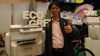 Riswin Li, Senior Manager and Product Marketing Epson Indonesia (Liputan6.com/Agustinus Mario Damar)