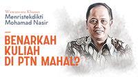 Wawancara Khusus Menristekdikti M Nasir.(Www.sulawesita.com)