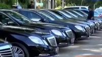 Jenis mobil mewah yang disewa Raja Arab mulai dari Sedan Alphard, Sedan Mercy E-200, E-250 hingga Series S Class.