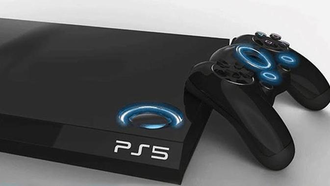 Mock up konsol PlayStation 5. (Doc: V3)