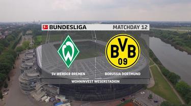 Berita video, gol telat Marco Reus bawa Borussia Dortmund menang atas Werder Bremen di bundesliga pekan ke-11
