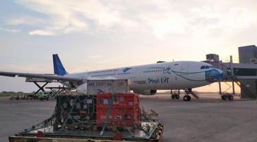 Garuda Indonesia Terbangkan Empat Oarngutan ke Kalimantan