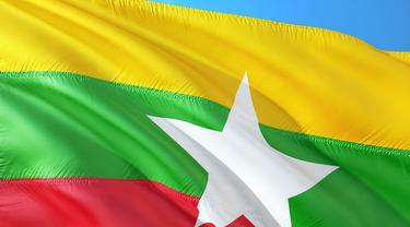 Bendera Myanmar (unsplash)