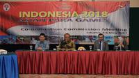 Kementerian Pemuda dan Olahraga bersama Dewan Paralimpik Asia (APC) dan Indonesia Asian Paragames Organizing Commitee (INAPGOC) menggelar Rapat Koordinasi Komite Asian Paragames 2018, di Jakarta, Kamis (4/5/2017). (Bagus/Kemenpora)
