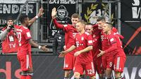 4. Bayern Munchen – Kegagalan mencari pengganti Robben dan Ribery membuat Munchen kesulitan di Bundesliga. Akibatnya rotasi pemain sering dilakukan oleh Niko Kovac. Perbaikan perlu dilakukan oleh raksasa Jerman tersebut. (AFP/Daniel Roland)