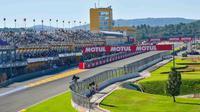 Sirkuit Ricardo Tormo yang mementaskan balapan MotoGP Valencia. (MotoGP)
