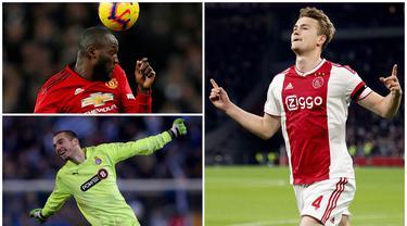 Liga Italia musim 2019/2020 akan kembali bergulir klub-klub sudah bersiap dengan mendatangkan sejumlah pemain baru pada bursa transfer. Berikut ini tujuh bintang top yang siap memanaskan panggung Serie A. (Kolase Foto dari AFP)