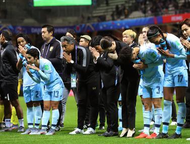 Kesedihan Timnas Putri Thailand Usai Dibantai AS 13-0