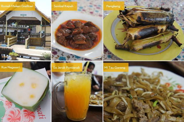 Beberapa makanan khas Kalimantan Barat