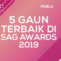 5 Gaun Terbaik di SAG Awards 2019
