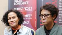 Mira Lesmana dan Riri Reza di acara Ideafest 2019 (Kapanlagi.com)