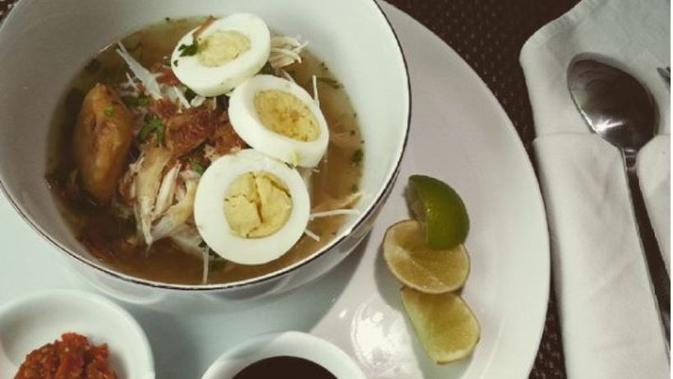 Soto Banjar, kuliner khas Banjarmasin, tempat kelahiran Ustaz Arifin Ilham. (dok.Instagram @sotobanjarcilayi/https://www.instagram.com/p/0CGbL8TZu5/Henry