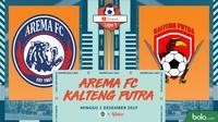 Shopee Liga 1 - Arema FC Vs Kalteng Putra (Bola.com/Adreanus Titus)