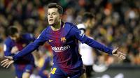7. Philippe Coutinho (Barcelona) - 2 juta pound (Rp 36,1 miliar). (AP/Alberto Saiz)