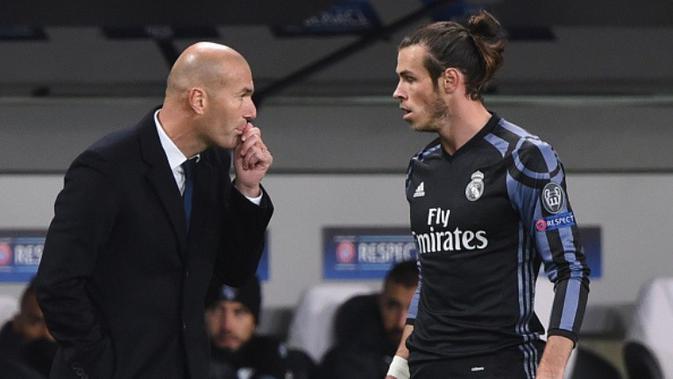 Real Madrid Hajar Alaves, Gareth Bale Malah Tidur di Tribun Penonton
