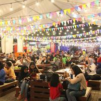 Event kuliner Pasar Senggol. (Istimewa)