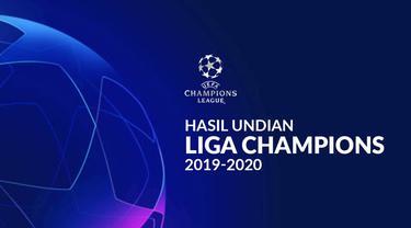 Berita video hasil undian fase grup Liga Champions 2019-2020.