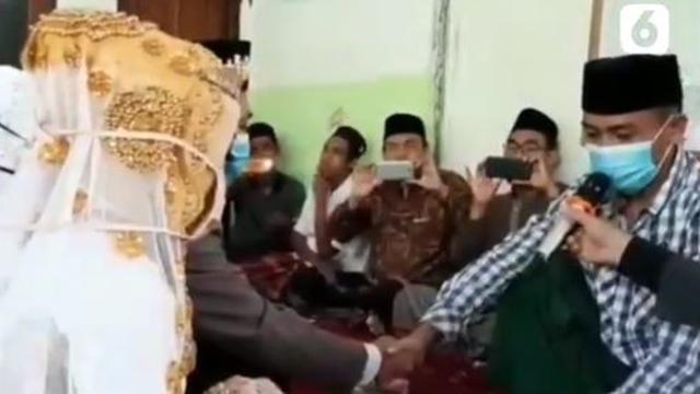 Viral Pria Nikahi Dua Gadis Sekaligus, Ijab Kabul Berlangsung Bergantian