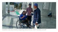 100 anak disabilitas berkebutuhan khusus mendapatkan kursi roda secara gratis dari Pemerintah Aceh. (Merdeka.com)
