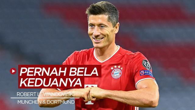 Berita video, Robert Lewandowski dan 4 pemain yang pernah berseragam Bayern Munchen dan Borussia Dortmund