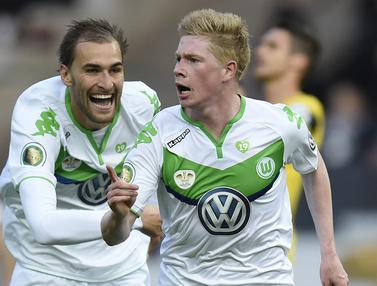 Foto: 5 Pemain dengan Nilai Transfer Termahal saat Dijual Wolfsburg, Kevin De Bruyne Pegang Rekor