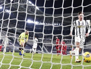 FOTO: Bantai SPAL, Juventus Amankan Tiket Semifinal Coppa Italia