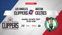 LA Clippers Vs Boston Celtics (Bola.com/Adreanus Titus)
