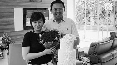 Veronica Tan merayakan ulang tahun pernikahannya dengan Basuki Tjahaja Purnama atau Ahok ke-20 bersama kerabat dekat pada 7 September 2017