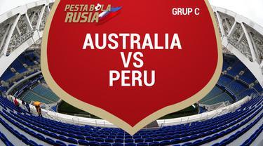 Timnas Peru mengakhiri pertandingan terakhir Grup C dengan kemenangan atas Australia dengan skor 2-0.
