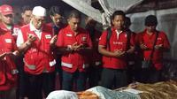 Relawan PMI itu gugur saat hendak mengantarkan bantuan logistik bagi korban gempa di Lombok Utara. (Instagram @palangmerah/Dinny Mutiah)