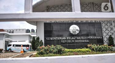 Penjagaan Ketat Gedung KKP usai OTT Menteri Edhy Prabowo