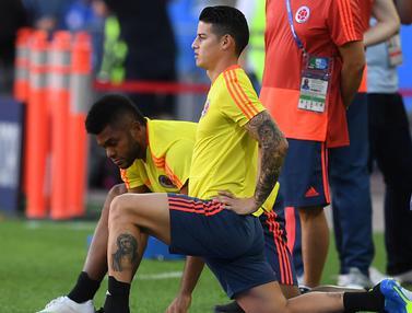 Semangat Pemain Kolombia Jelang Hadapi Inggris