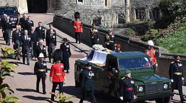 Prosesi Pemakaman Prince Philip