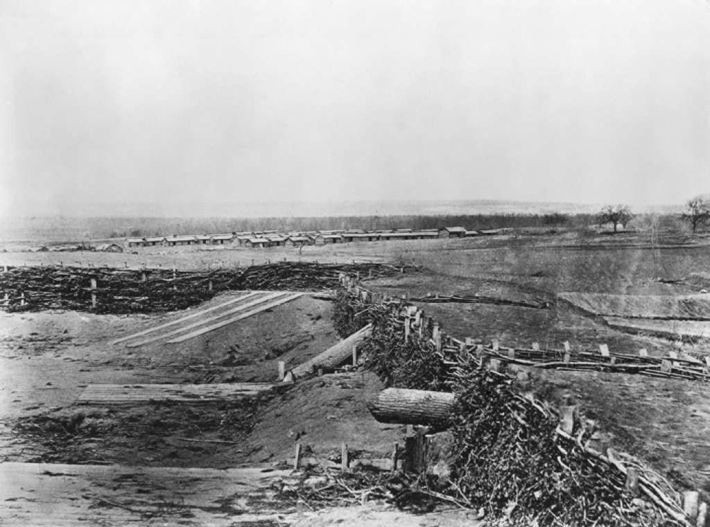 Meriam kayu Quaker Guns pada Perang Sipil AS (AP)