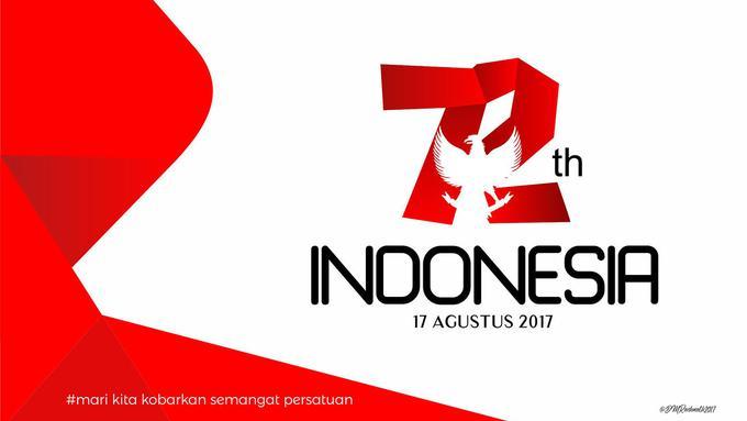 Logo Hut Ri Ke 75 - Nusagates