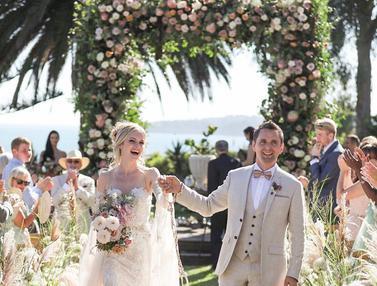 FOTO: Momen Pernikahan Vokalis Muse, Matt Bellamy