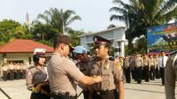 Polisi dipecat secara tidak hormat karena menipu. (Pramita Tristiawati)