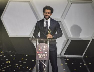 Mohamed Salah, Pemain Terbaik Afrika