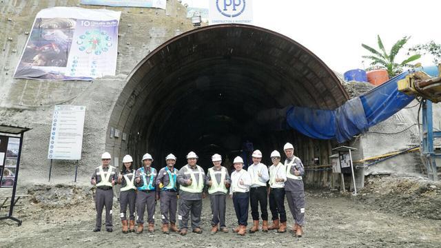 Terowongan Notog merupakan salah satu jalur transportasi kereta api yang menghubungkan Cilacap dan Purwokerto. (Dok PTPP)