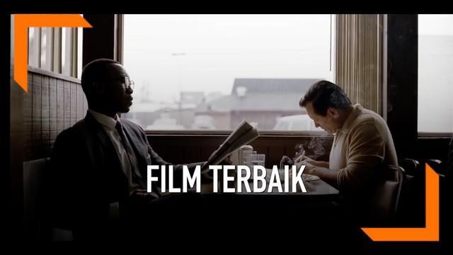 """Film road trip """"Green Book"""" memenangkan film terbaik Piala Oscar 2019. Film ini bercerita tentang persahabatan antara Pianis Jazz Afro-Amerika dengan sang sopir berkulit putih."""
