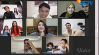Hangatnya Kebersamaan Berbuka Puasa di Lokasi Syuting Sinetron Samudra Cinta. (vidio.com)