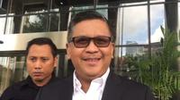 Sekretaris Jenderal PDIP Hasto Kristiyanto. (Liputan6.com/Fachrur Rozie)