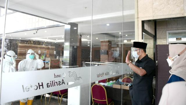 Pemprov Jabar Gandeng Grand Asrilia Hotel Sediakan Tempat Pemulihan Pasien COVID-19