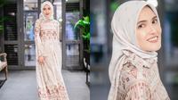 Cantiknya Shandy Aulia dalam balutan hijab dan gamis (Sumber: Instagram/shandyaulia)