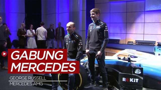 Berita Video, Mercedes Resmi Rekrut George Russell untuk Gantikan Valteri Bottas