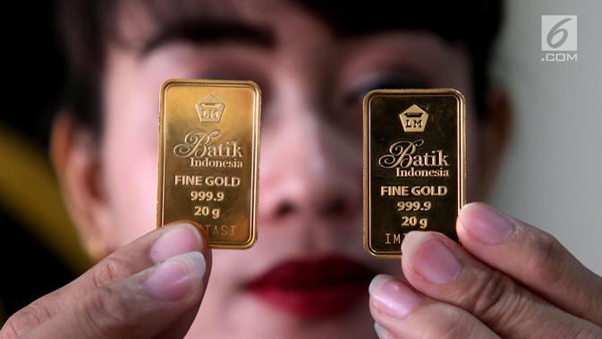 ANTM Harga Emas Antam Bertahan di Rp 937 Ribu per Gram - Bisnis Liputan6.com
