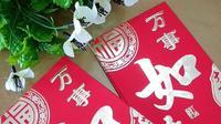 Angpao berasal dari bahasa Mandarin yang berarti amplop merah. (dok. Instagram @ringan_tulungagung/https://www.instagram.com/p/BtPqmyWBgvk/Esther Novita Inochi)