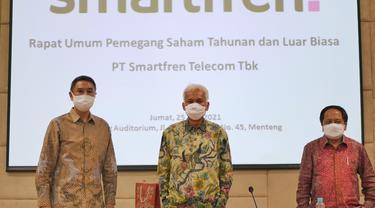 Susunan Direksi dan Komisaris Smartfren