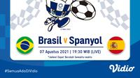 Banner Sepak Bola Olimpiade. (Foto: Vidio)