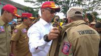 Menteri Sosial, Agus Gumiwang Kartasasmita di Bogor, Jawa Barat.(Www.sulawesita.com)